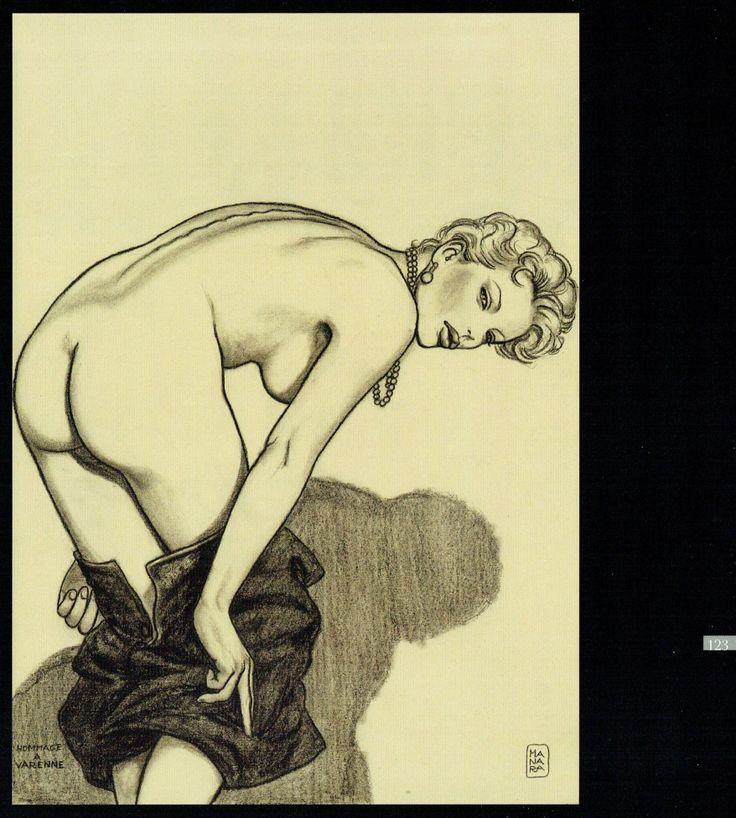 Milo Manara - Veneri di Milo, 123-Hommage a Alex Varenne