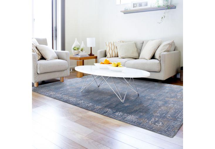 Dywany Very :: Dywan naturalny vintage 8245 DutchBlue - beżowo niebieski - Carpets&More - wysokiej klasy dywany i akcesoria tekstylne