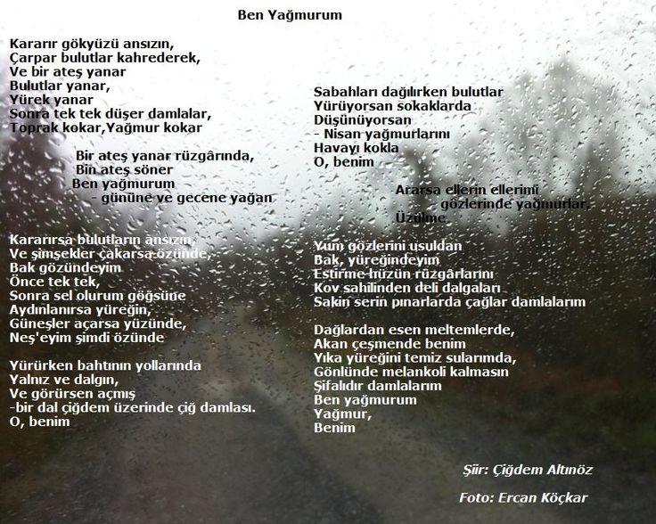 Ben yağmurum