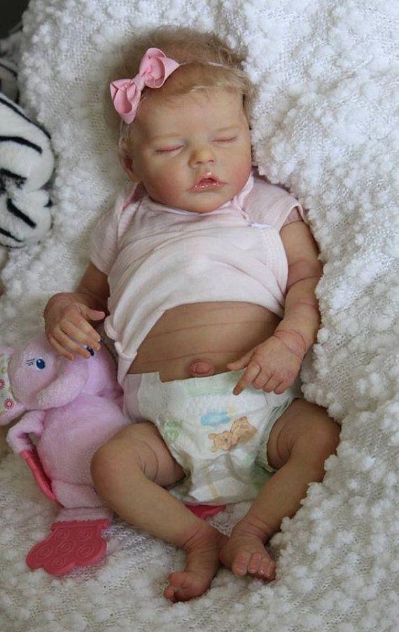 Custom Reborn Baby Newborn Doll Quot Twin B Quot By Bonnie Brown