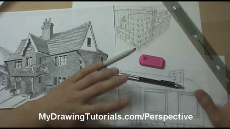 New Perspective Drawing Lesson Series Just Released! Watch the first lesson here - http://www.youtube.com/watch?v=Nm5u2RAkhm0  Also get the full lesson at - http://mydrawingtutorials.com/linear-perspective-drawing-lessons/