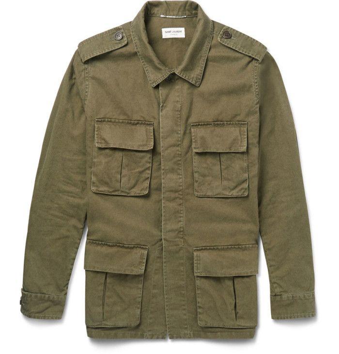 Saint Laurent Army Field Jacket