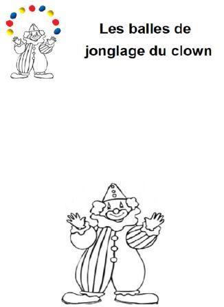 image les balles de jonglage du clown en pâte à modeler