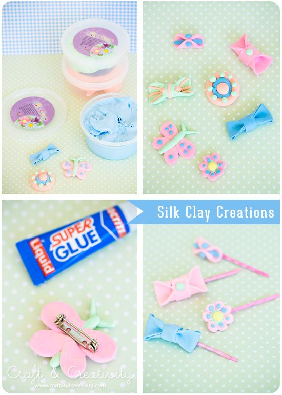 Silk Clay Creations, by Craft & Creativity