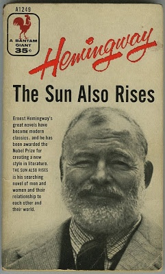 book report on the sun also rises Okay, i am reading the book the sun also rises by ernest hemingway we are going to be assigned to write a paragraph about the way he describes, or his style of describing i know he is really detailed and kind of has a freestyle form but i would like to know others' opinions thanks.