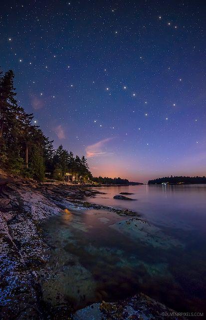 ~~Galiano Island Stars ~ waterscape, British Columbia, Canada by James Wheeler~~