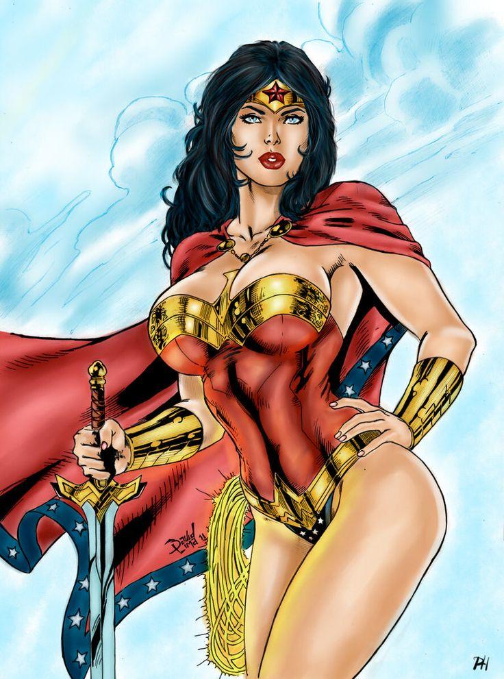 Wonder Woman Has Big Boob Problems