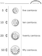 learning about mexican money all things spanish pinterest money worksheets geography and. Black Bedroom Furniture Sets. Home Design Ideas