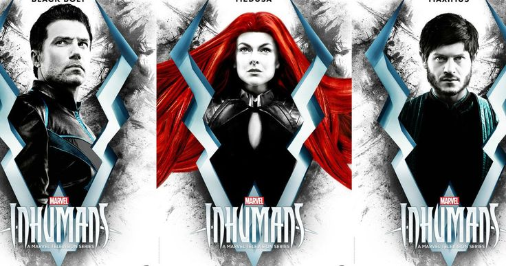 Meet Marvel's Royal Family in New Inhumans Character Posters -- ABC has released several new character posters for their Inhumans TV series showcasing Marvel's royal family. -- http://movieweb.com/inhumans-tv-show-character-posters-marvel/