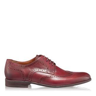 Pantofi barbati bordo 2881 piele naturala
