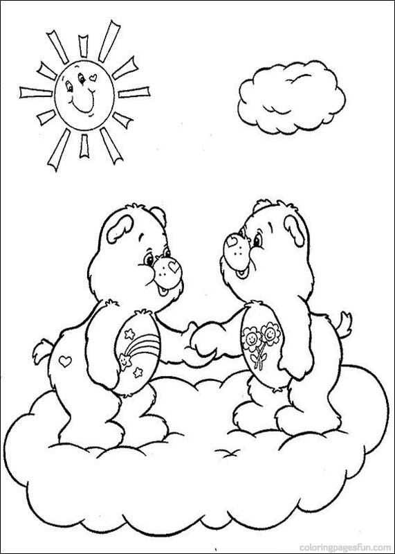 Care Bears Coloring Pages 27