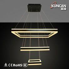 Новый высокой освещение питания творческая подвесные прием потолочный светильник из светодиодов люстра