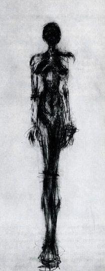 Artwork by Alberto Giacometti - Femme (Standing Woman),  Alberto Giacometti