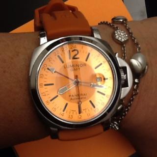Panerai Automatic Luminor GMT orange