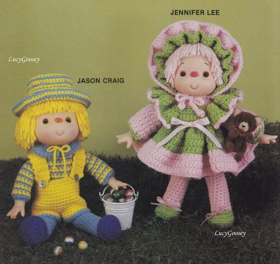 "Amy Dress for 11.5/"" Doll Fibre Craft Crochet Pattern//Instructions Leaflet"