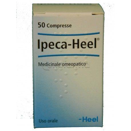 Ipeca Heel in compresse è un rimedio omeopatico utilizzato in caso di acidità di stomaco, reflusso e pesantezza di stomaco.