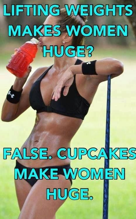 Girls, Get Your Guns: Why Women Should Lift Weights! You don't have to go overboard, you can build long lean muscles with weights instead of bulking up to look like a man. It's all in your routine