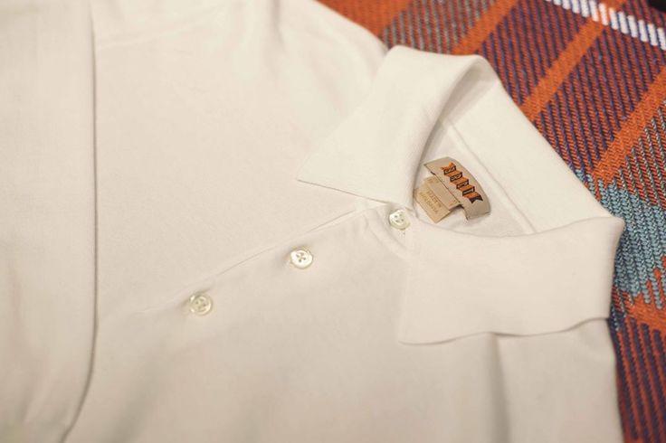 """Mi piace"": 178, commenti: 1 - Baracuta (@baracuta) su Instagram: ""White on white - The 100% cotton knitted polo. Available on baracuta.com"""