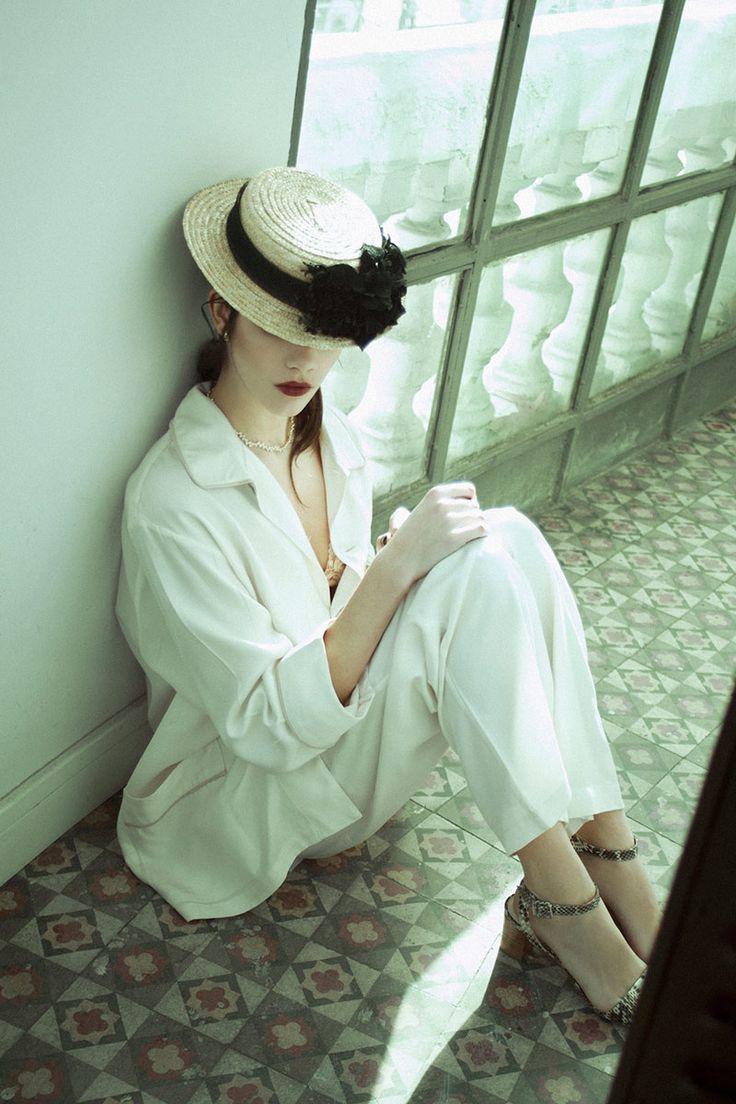 #Canotier #Cherubina #Vogue