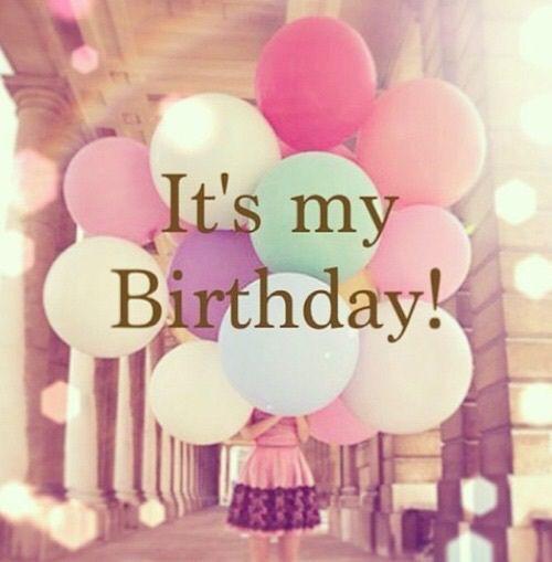 It is my birthday!