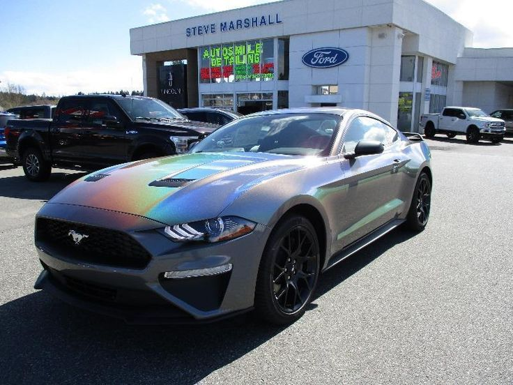 2018 Mustang with 3M Gloss Flip Psychedelic Vinyl Wrap is