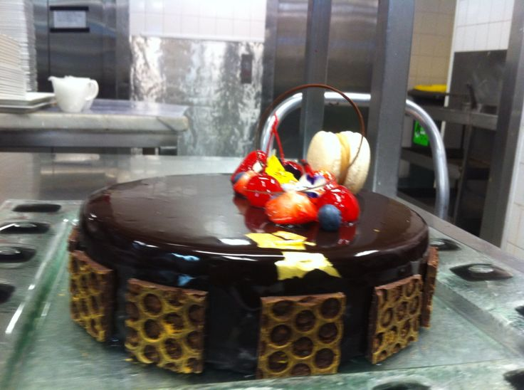 Coffee chocolate tort