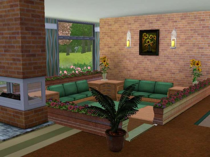 78 best sims 3 and 4 houses images on pinterest for Sims 4 living room ideas