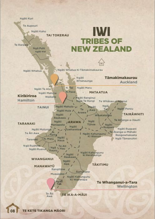 maori map of tribes - Google Search