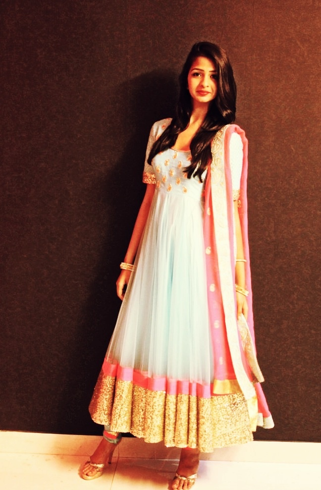 Gorgeous #Anarkali by Cilvana Designs http://www.cilvana-designs.com/