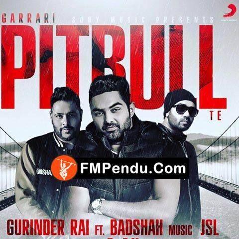 Garrari Pitbull Te Badshah ,Gurinder Rai Latest Mp3 Song Lyrics Ringtone
