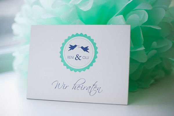 Letterpress Studio poule folle Stuttgart Wedding invitation Kolibris, Hochzeitseinladung, Papeterie