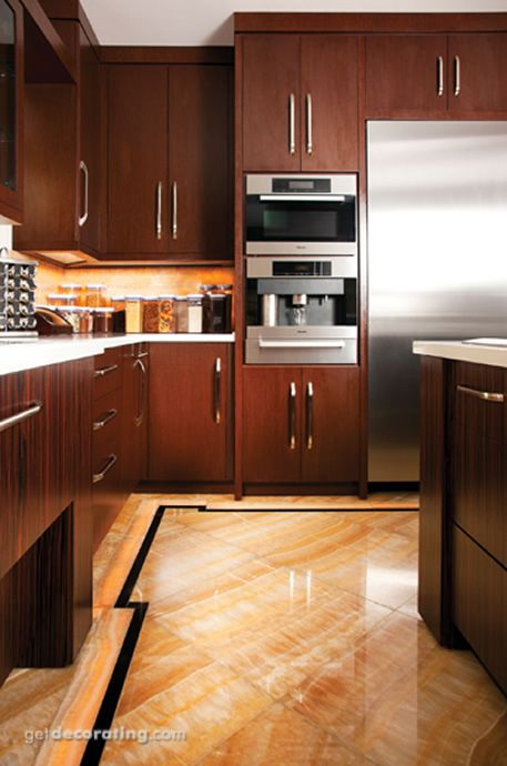 Kitchen Cabinets, Countertops, Design, Photos / Pictures of Kitchens, Remodeling, Decorating & Decor Ideas for Kitchens in the Home / House - GetDecorating.com