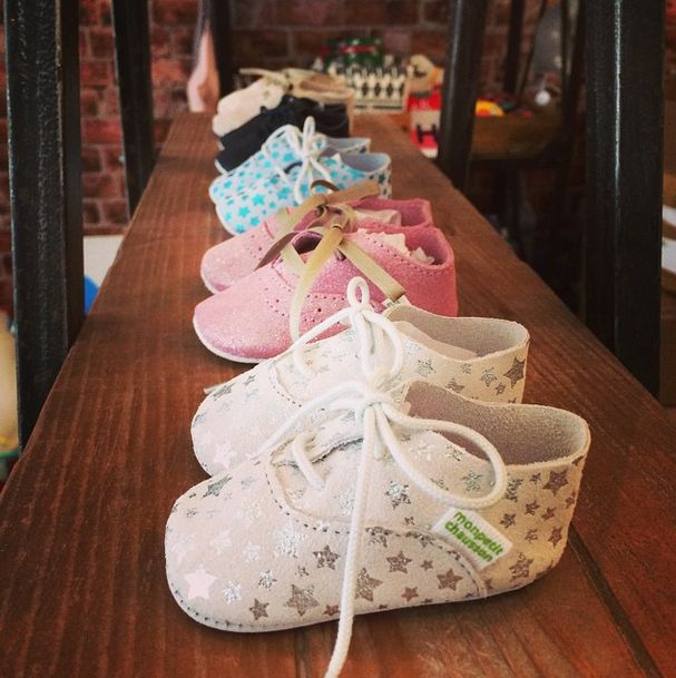 The cutest baby leather shoes in the world. www.littlefrenchy.com.au #madeinfrance #handcrafted #babyshoes #leather #monpetitchausson