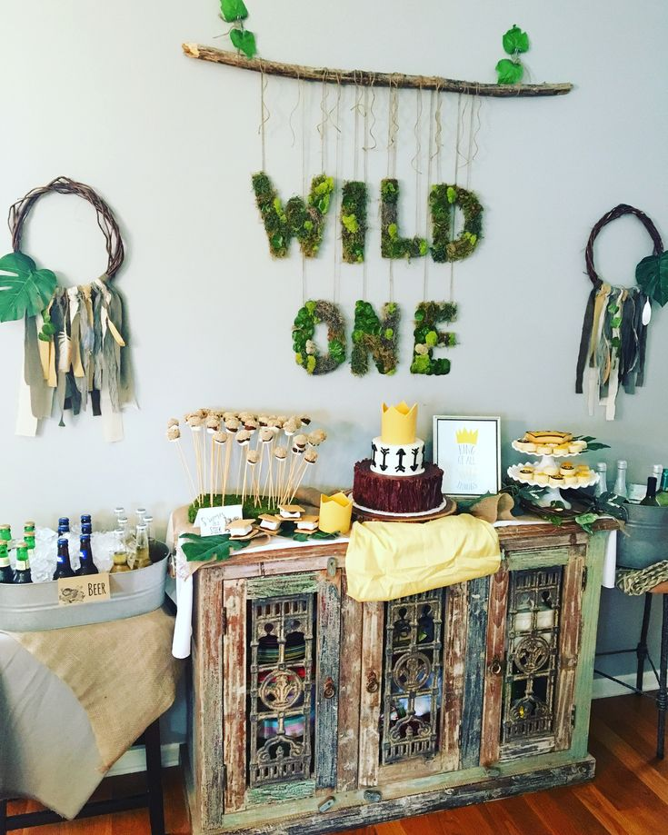 """A Wild One"" Where the Wild Things Are First Birthday Party"