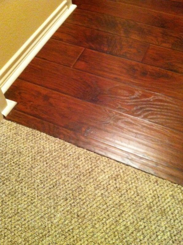 Laminate to carpet transition options - DoItYourself.com Community Forums