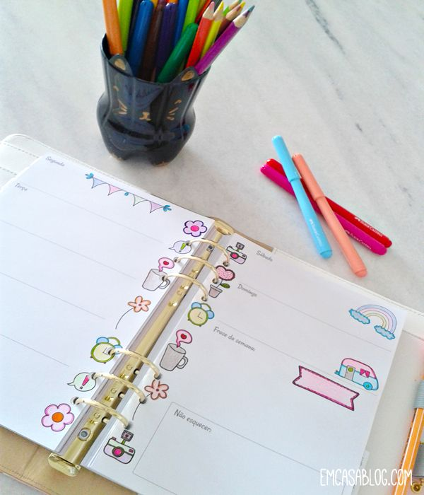 DOWNLOAD: PLANNER DE COLORIR