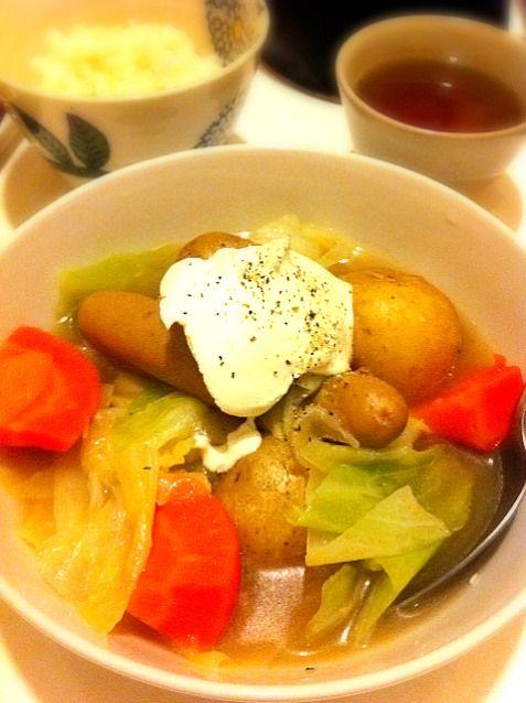 ホッとする味 - 1件のもぐもぐ - ポトフ by kikicyoko