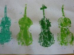 Les violons d'Arman
