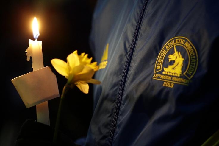 Boston Marathon Bombing Vigils