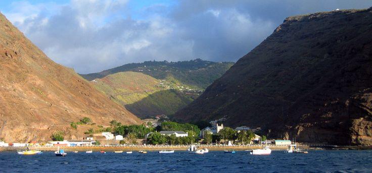 Jamestown Saint Helena port - West Africa - Wikipedia