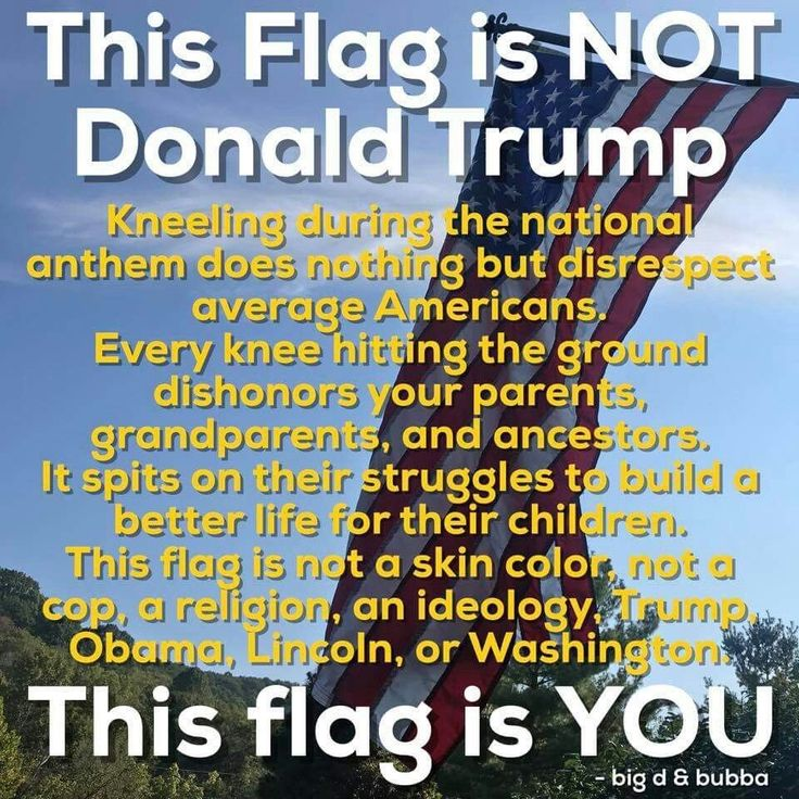 USA. Make it great. Stop tearing it down. Including the monuments. Build something. It's much more difficult. Then defend it. You will earn the respect you desire in doing so.