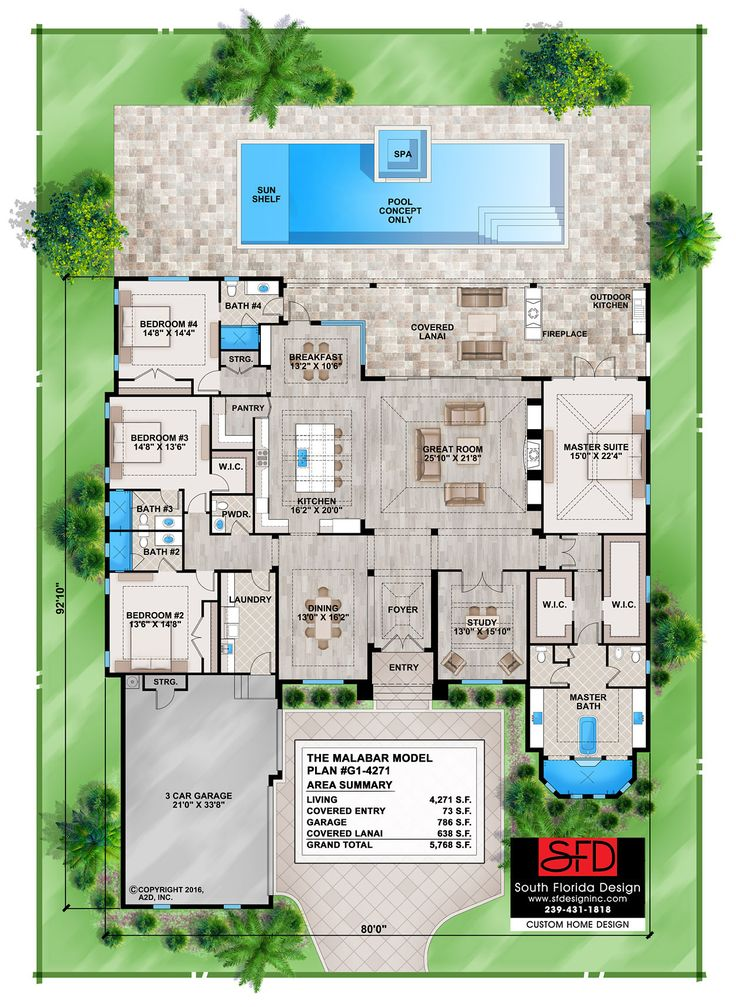 16 best Contemporary House Plans images on Pinterest | Contemporary ...