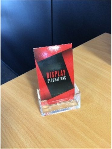88 best acrylic displays images on pinterest acrylic display business card holder for vertical business cards abcv reheart Images