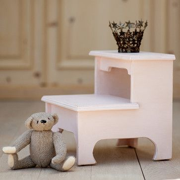 Sweet Pea Bed Step Stool by Bradshaw Kirchofer - traditional - Kids Beds - Los Angeles - Bradshaw Kirchofer Handmade Furniture
