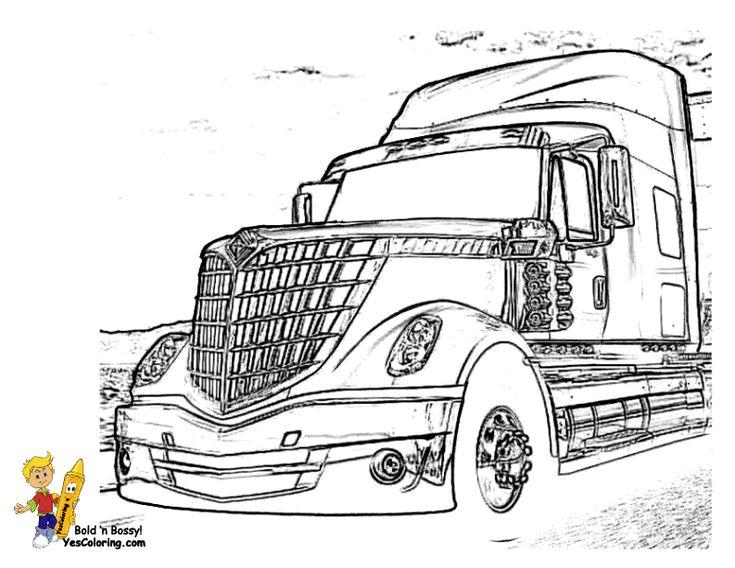 navistar trucks printables