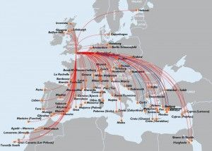 How to fly all over europe (better/cheaper than a Eurorail pass?)