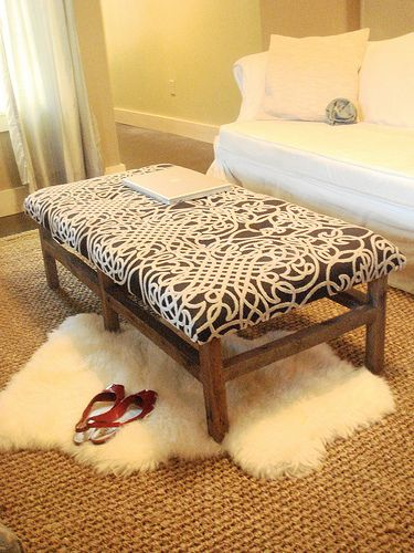 how to make your own ottoman with storage