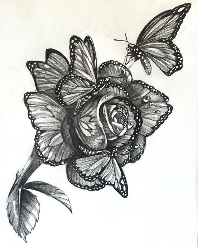 When butterflies get together and make a rose, I give you the Monarch Rose. GORGEOUS!!! For my sleeve