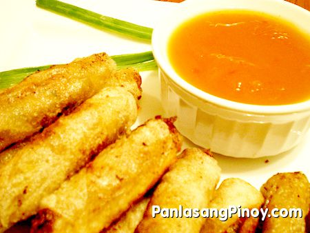 Lumpiang Shanghai recipe. I used celery instead of green onions, 3 to 4 garlic cloves and a tablespoon of teriyaki sauce. YUMMY!!!