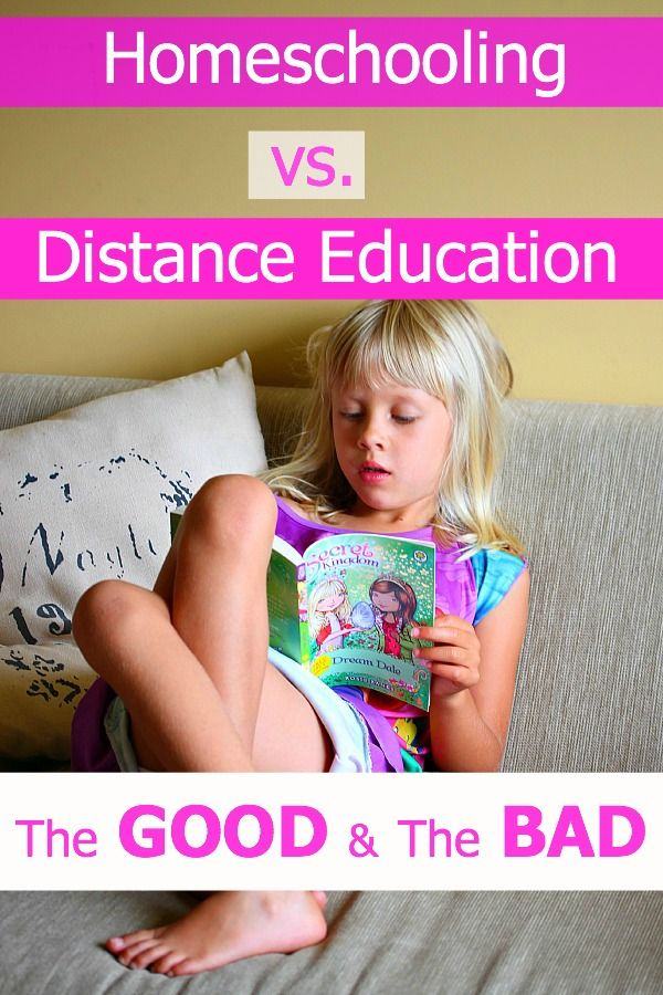 Homeschooling & Distance Education - The GOOD + The BAD. Visit our blog to get the low down!